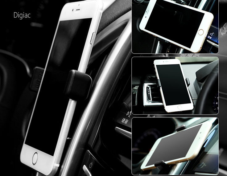 support t l phone gps grille ventilation fixation voiture. Black Bedroom Furniture Sets. Home Design Ideas